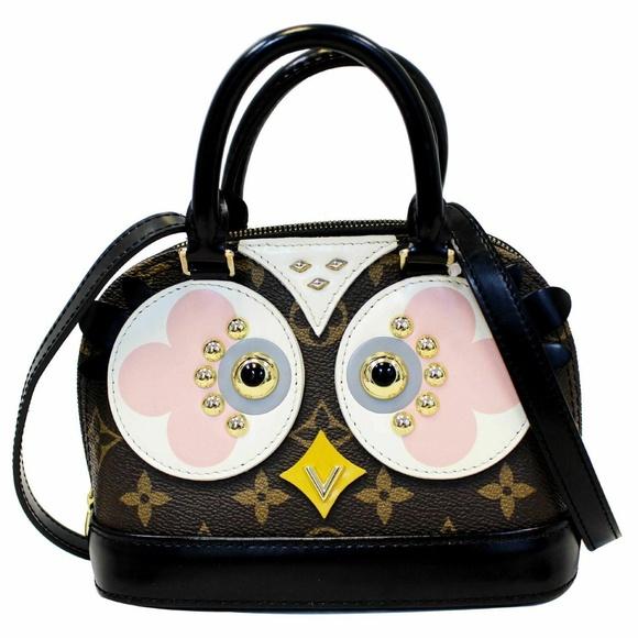 Louis Vuitton Handbags - LOUIS VUITTON Nano Alma Owl Shoulder Crossbody Bag